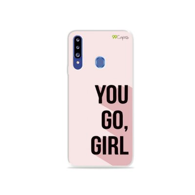 Capa para Galaxy A20s - You Go, Girl