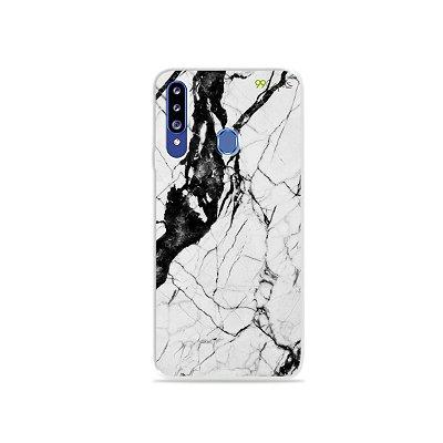 Capa para Galaxy A20s - Marmorizada