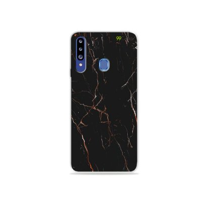 Capa para Galaxy A20s - Marble Black