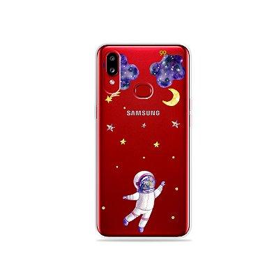Capa para Galaxy A10s - Astronauta Sonhador