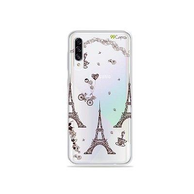 Capa para Galaxy A30s - Paris
