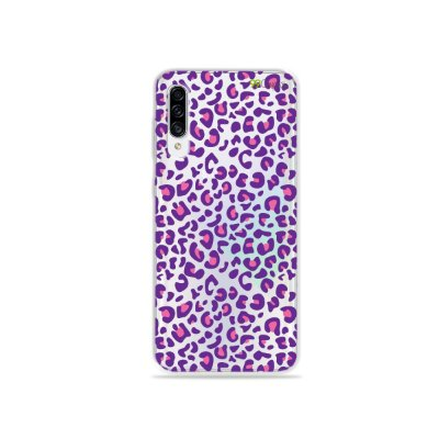 Capa para Galaxy A30s - Animal Print Purple