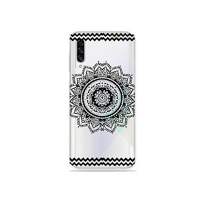 Capa para Galaxy A30s - Mandala Preta
