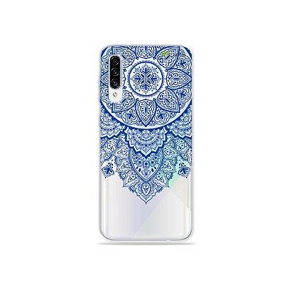 Capa para Galaxy A30s - Mandala Azul