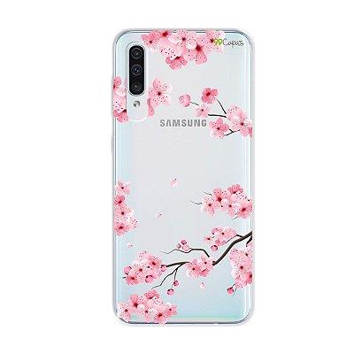 Capa para Galaxy A50s - Cerejeiras