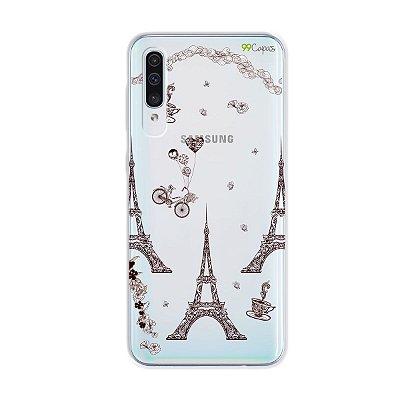 Capa para Galaxy A50s - Paris
