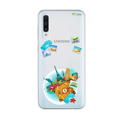 Capa para Galaxy A50s - Memórias