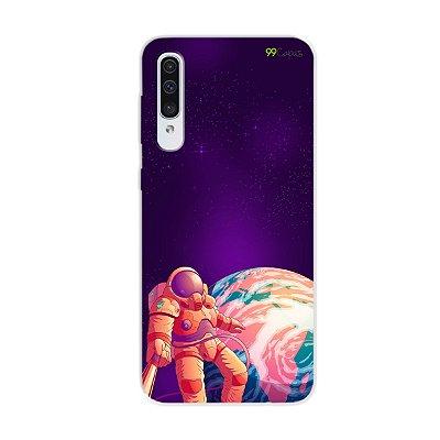 Capa para Galaxy A50s - Selfie Galáctica