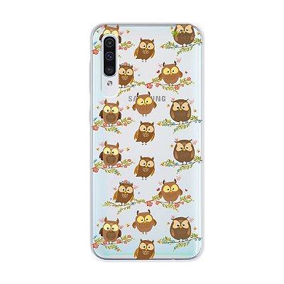 Capa para Galaxy A50s - Corujinhas