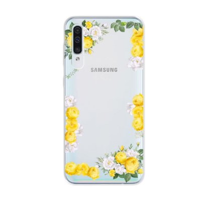 Capa para Galaxy A50s - Yellow Roses