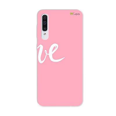 Capa para Galaxy A50s - Love 2