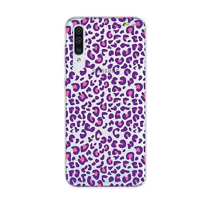 Capa para Galaxy A50s - Animal Print Purple