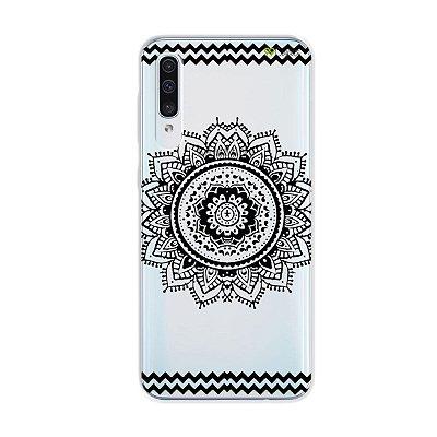 Capa para Galaxy A50s - Mandala Preta