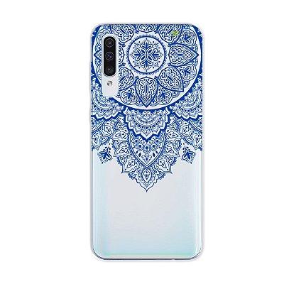 Capa para Galaxy A50s - Mandala Azul