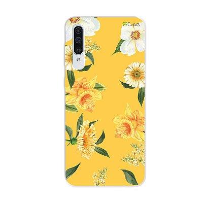 Capa para Galaxy A50s - Margaridas