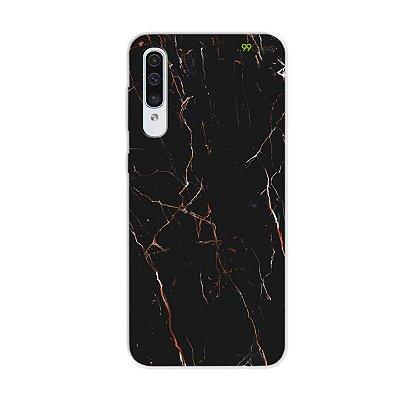 Capa para Galaxy A50s - Marble Black