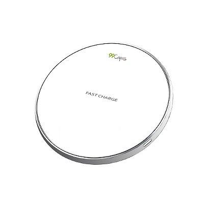 Carregador Wireless sem fio - Branco