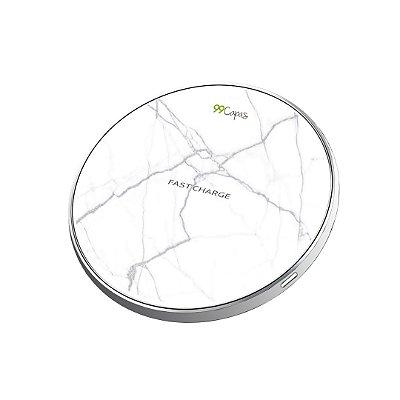 Carregador Wireless sem fio - Marble White