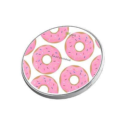 Carregador Wireless sem fio - Donuts