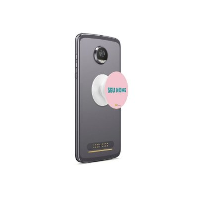 Popsocket Shell - Com Nome