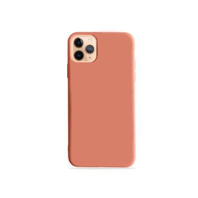 Silicone Case Pêssego para iPhone 11 Pro Max (acompanha Pop Socket) - 99Capas