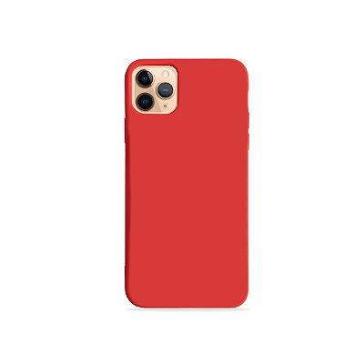 Silicone Case Vermelha para iPhone 11 Pro Max (acompanha Pop Socket) - 99Capas