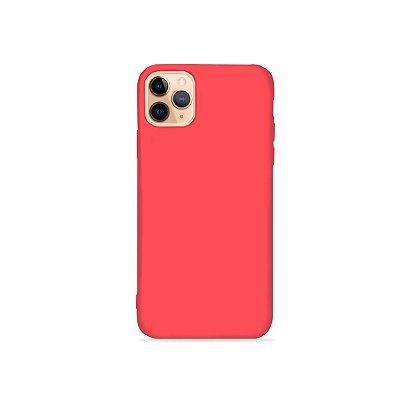 Silicone Case Rosa Neon para iPhone 11 Pro Max (acompanha Pop Socket) - 99Capas