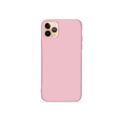 Silicone Case Rosa Pétala para iPhone 11 Pro Max (acompanha Pop Socket) - 99Capas