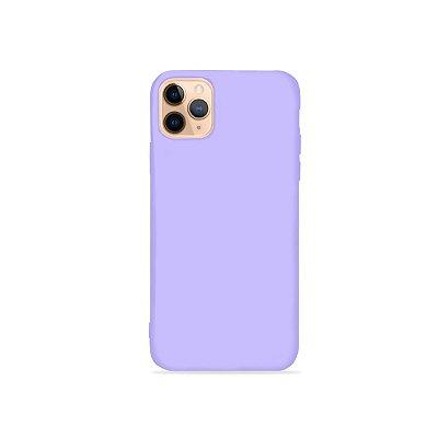 Silicone Case Lilás para iPhone 11 Pro Max (acompanha Pop Socket) - 99Capas