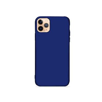 Silicone Case Azul para iPhone 11 Pro Max (acompanha Pop Socket) - 99Capas