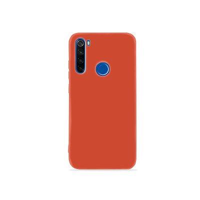 Silicone Case Laranja para Redmi Note 8 (acompanha Pop Socket) - 99Capas