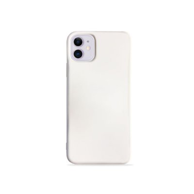 Silicone Case Branco para iPhone 11 (acompanha Pop Socket) - 99Capas