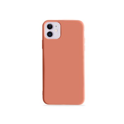 Silicone Case Pêssego para Iphone 11 (acompanha Pop Socket) - 99Capas