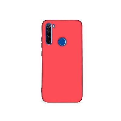 Silicone Case Rosa Neon para Redmi Note 8  (acompanha Pop Socket) - 99Capas