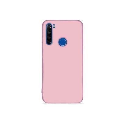Silicone Case Rosa Pétala para Redmi Note 8 (acompanha Pop Socket) - 99Capas