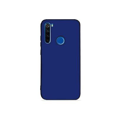 Silicone Case Azul para Redmi Note 8 (acompanha Pop Socket) - 99Capas