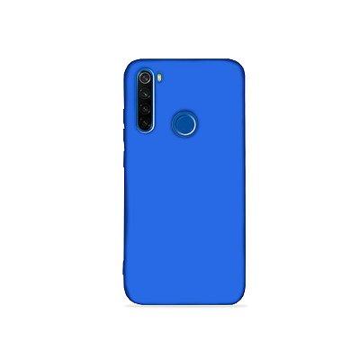 Silicone Case Azul Bic para Redmi Note 8 (acompanha Pop Socket) - 99Capas