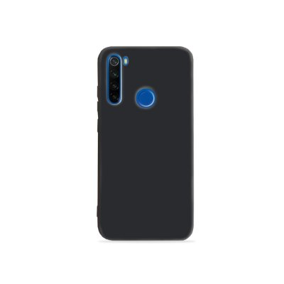 Silicone Case Preta para Redmi Note 8 (acompanha Pop Socket) - 99Capas