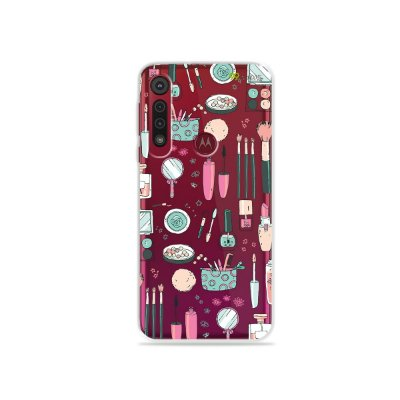 Capa para Moto G8 Plus - Make Up