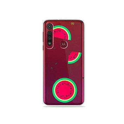 Capa para Moto G8 Play - Melancias