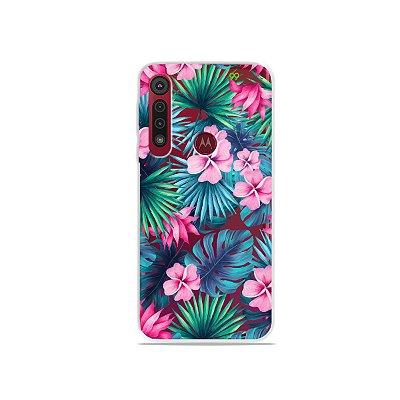 Capa para Moto G8 Play - Tropical