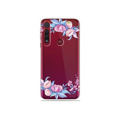 Capa para Moto G8 Play - Bromélias