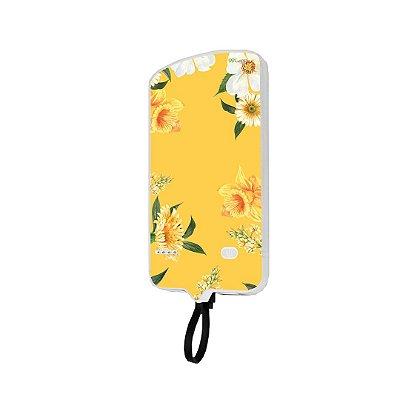 99Snap Powerbank - Micro USB V8 ( Carregador portátil para celular) Margaridas
