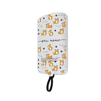 99Snap Powerbank - Lightning ( Carregador portátil para celular) Cãozinho com nome personalizado