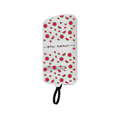 99Snap Powerbank - Lightning ( Carregador portátil para celular) Mini Melancias com nome personalizado