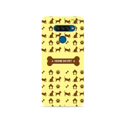 Capa My Pet Yellow com nome personalizado - 99Capas