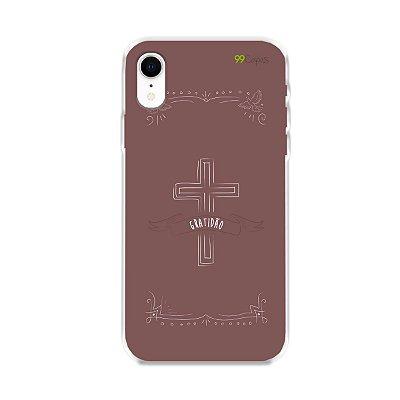 Capinha para Iphone XR - Gratidão