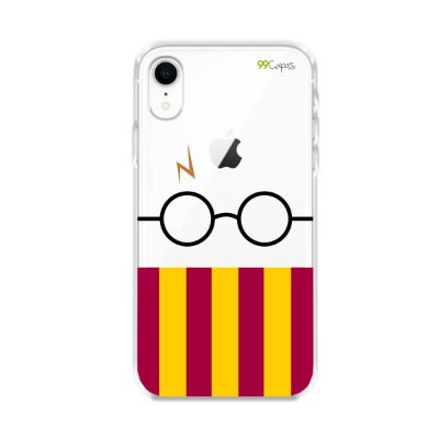 Capinha (transparente) para iPhone XR - H.P.