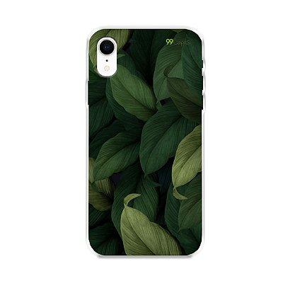Capinha para iPhone XR - Folhas