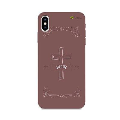 Capinha para Iphone XS Max - Gratidão